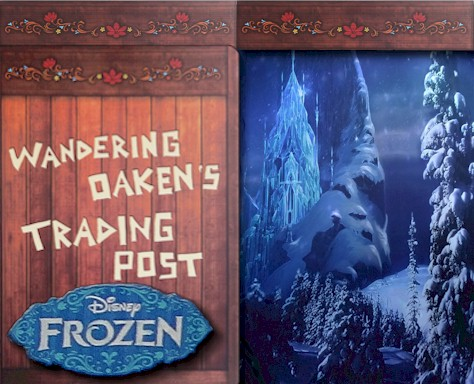 FROZEN Summer Fun Special Event Merchandise from Wandering Oaken's Trading Post at Disney World