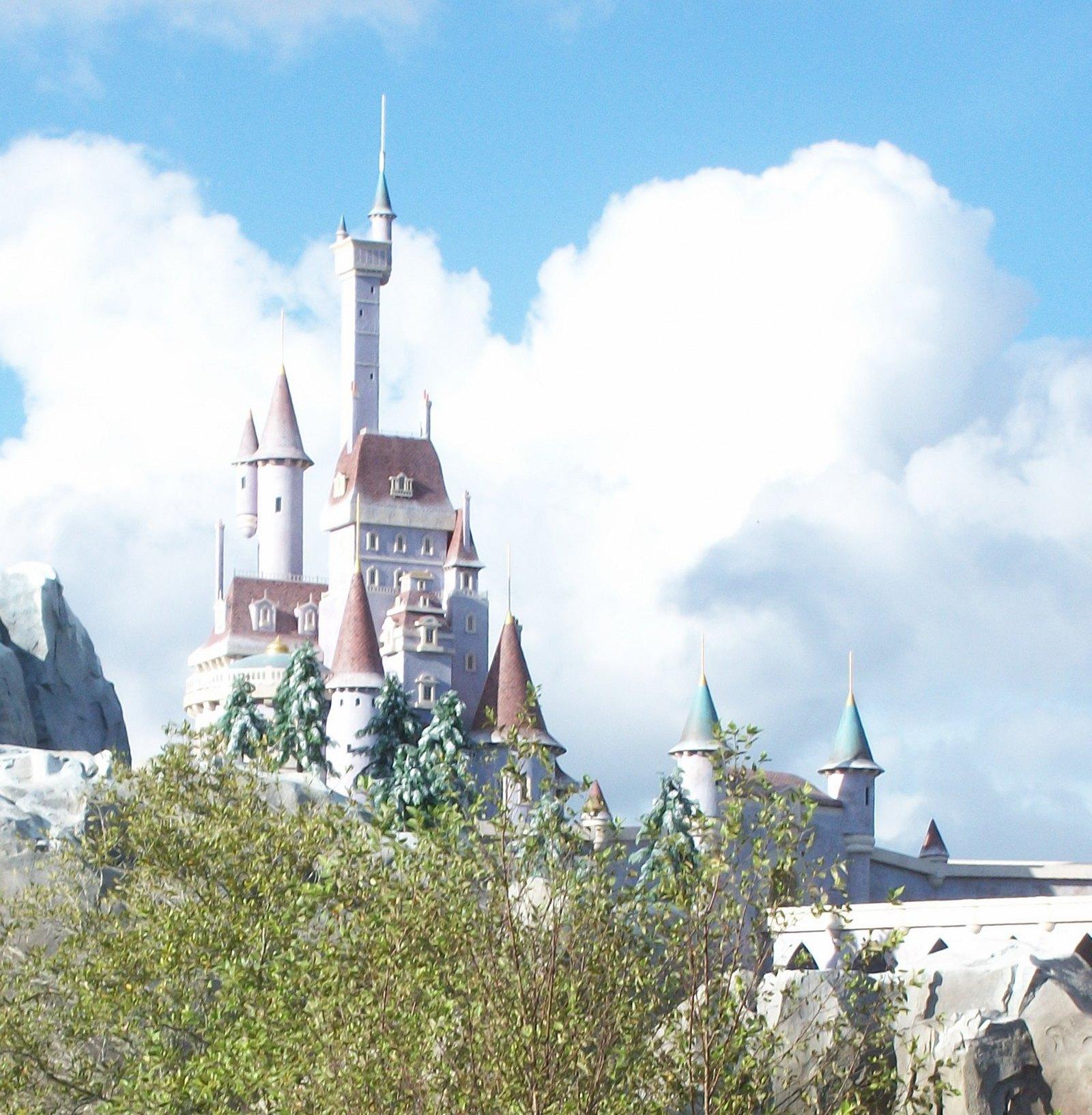 Beauty and the Beasts Castle Fantasyland - Disney Magic Kingdom