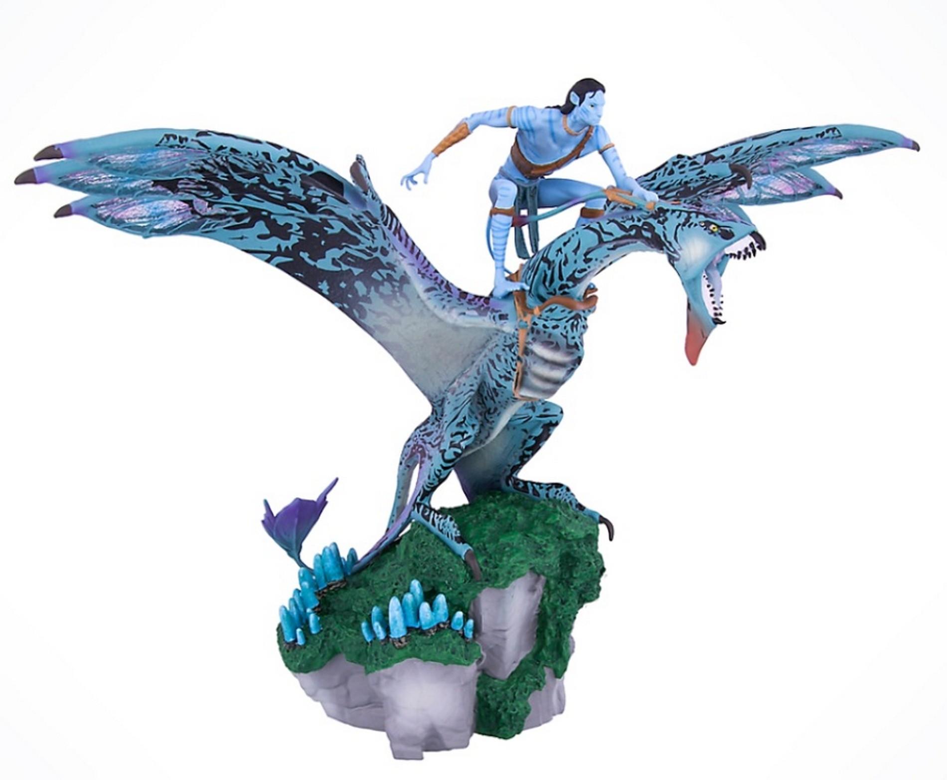 Avatar Jake Sully Riding A Banshee Medium Big Fig - Disney Pandora – The World of Avatar © Dizdude.com