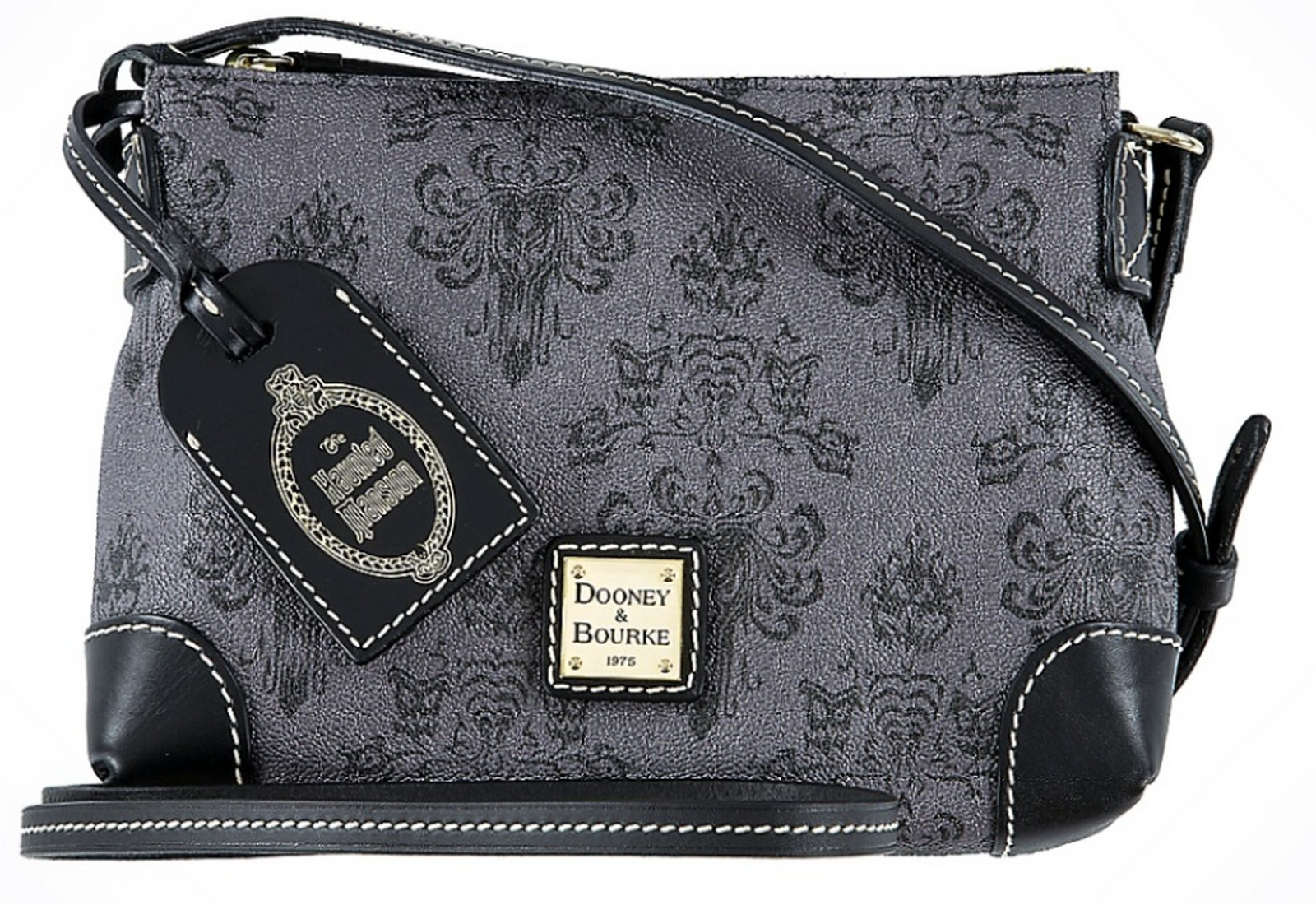 Dooney & Bourke - Disney Haunted Mansion Wallpaper Crossbody Pouchette Handbag © Dizdude.com