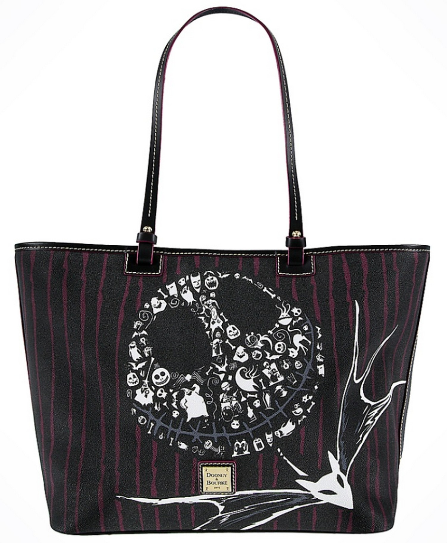 Dooney & Bourke - The Pumpkin King Tote Handbag - The Nightmare Before Christmas © Dizdude.com