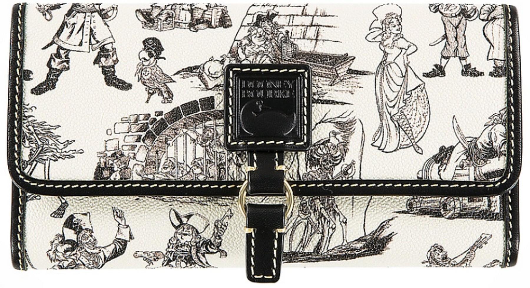 Dooney & Bourke Pirates of the Caribbean Checkbook Wallet - Disney World Exclusive © Dizdude.com