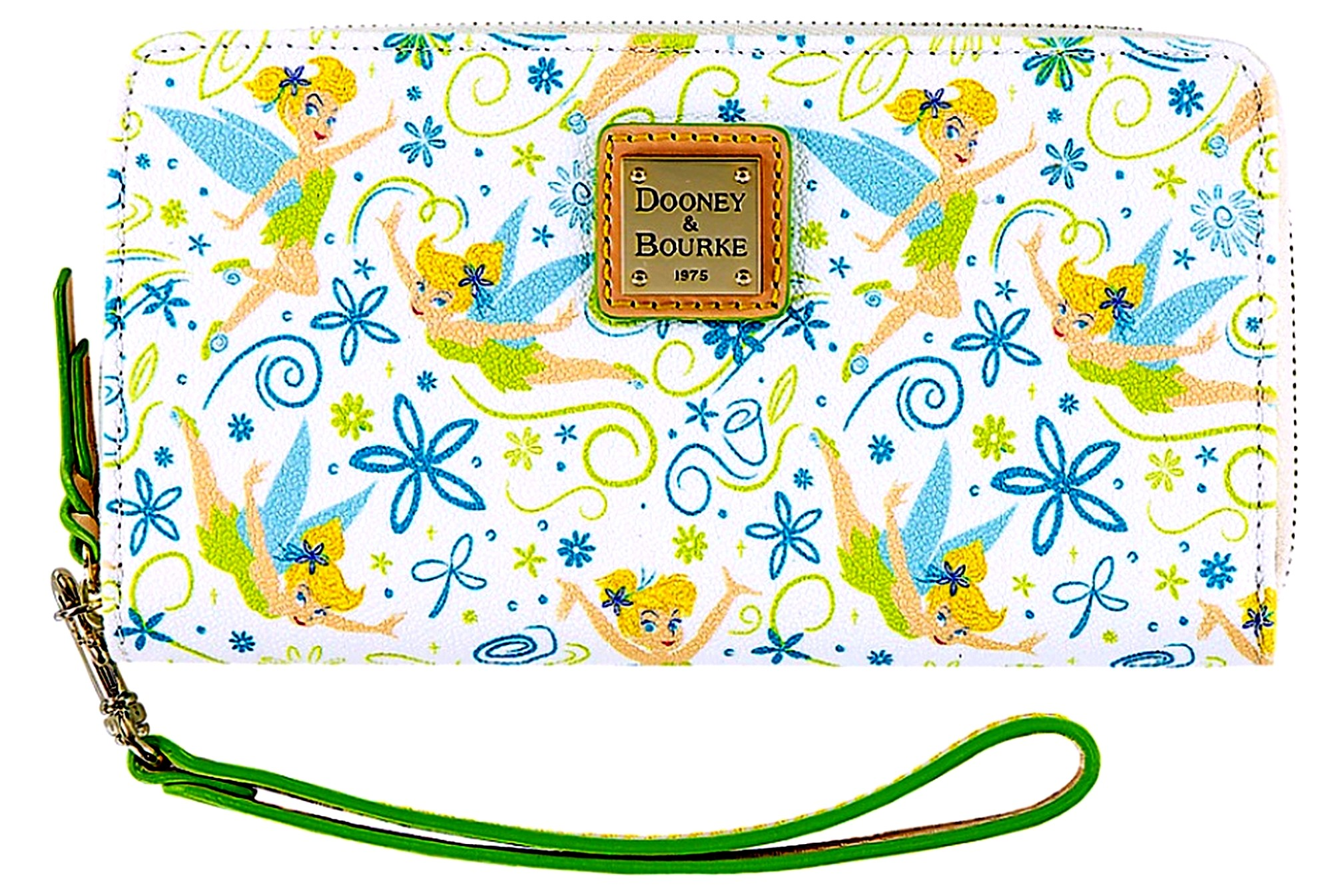Dooney & Bourke Tinker Bell Floral Large Wallet With Phone Pocket - Disney World Exclusive © Dizdude.com