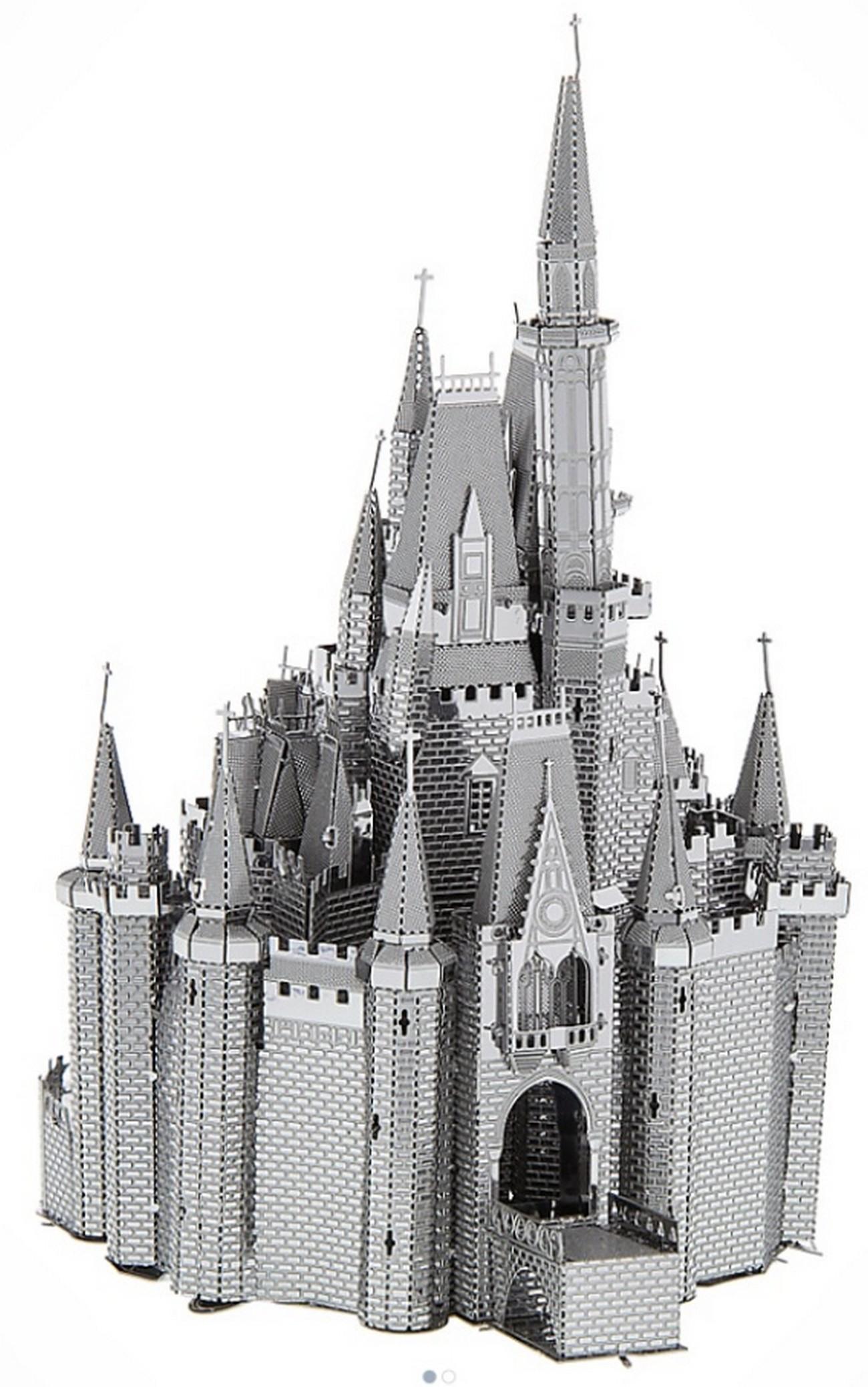 Walt Disney World Cinderella's Castle 3D Metal Model Kit - Disney Exclusive © Dizdude.com