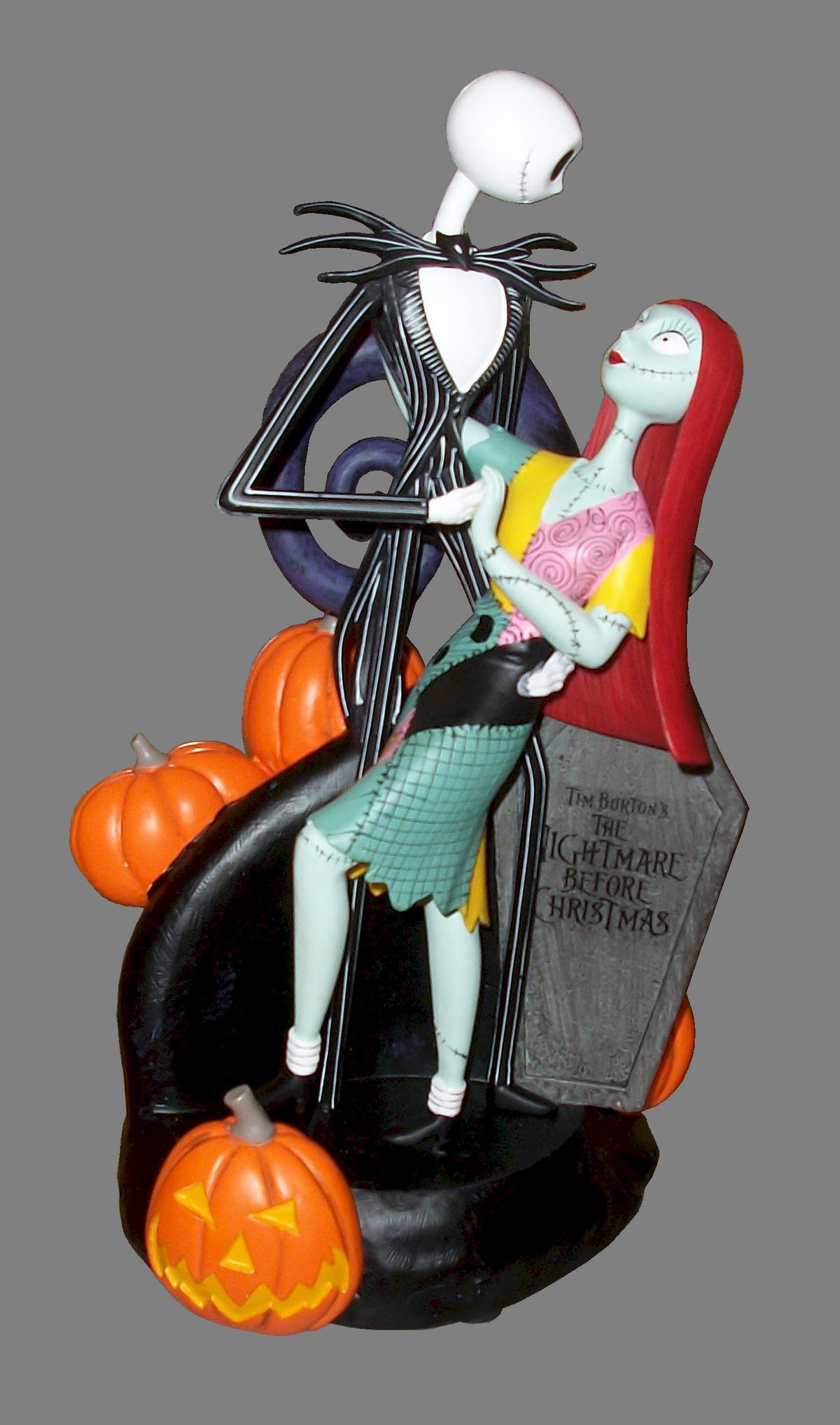 Disney The Nightmare Before Christmas ~ Jack and Sally Medium Big Figurine by Keri Murphy © Dizdude.com