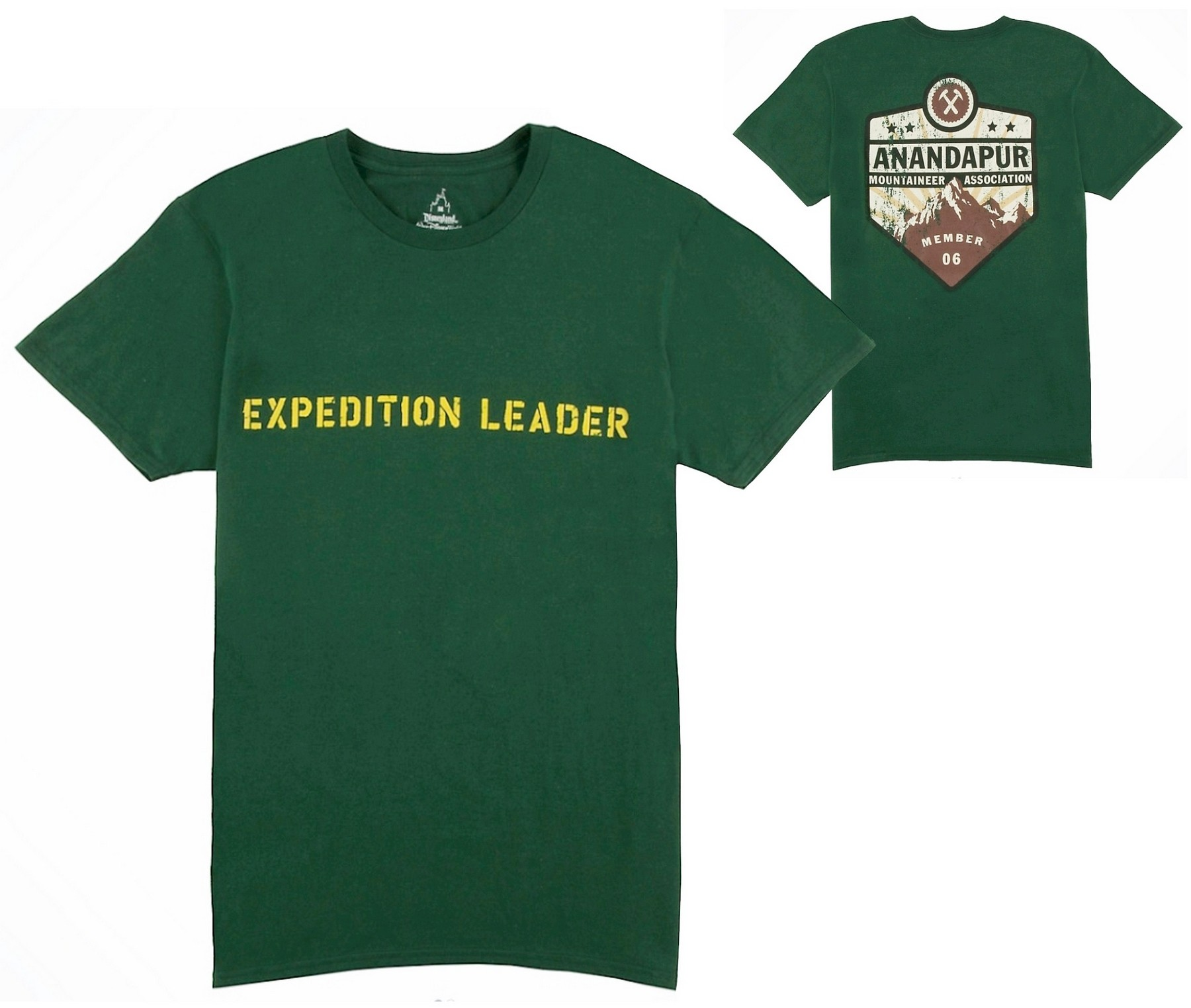 Expedition Leader Adult T-Shirt (Tee, Tshirt or T shirt) ~ Disney Animal Kingdoms Expedition Everest