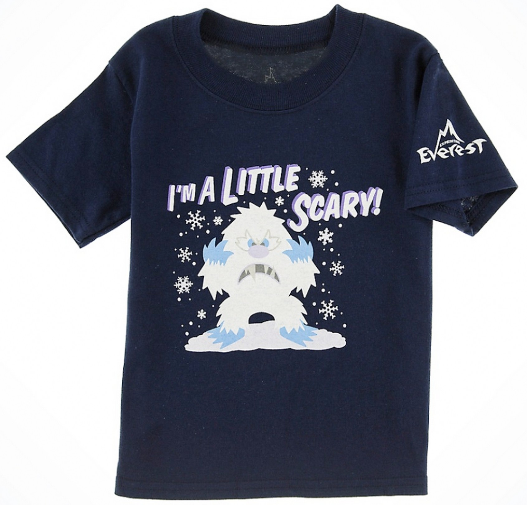 Little Scary Yeti Expedition Everest Toddler T-Shirt (Tee, Tshirt or T shirt) ~ Disney Animal Kingdoms