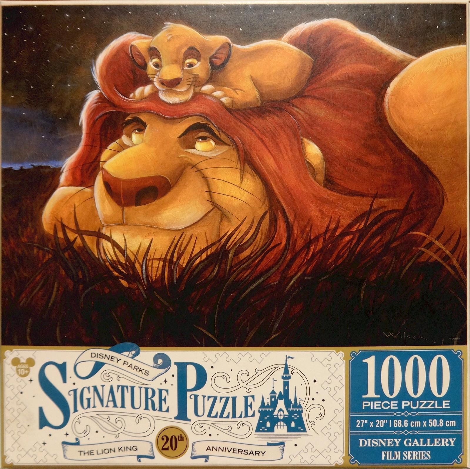 Lion King 20th Anniversary 1000 Piece Disney Signature Puzzle © Dizdude.com