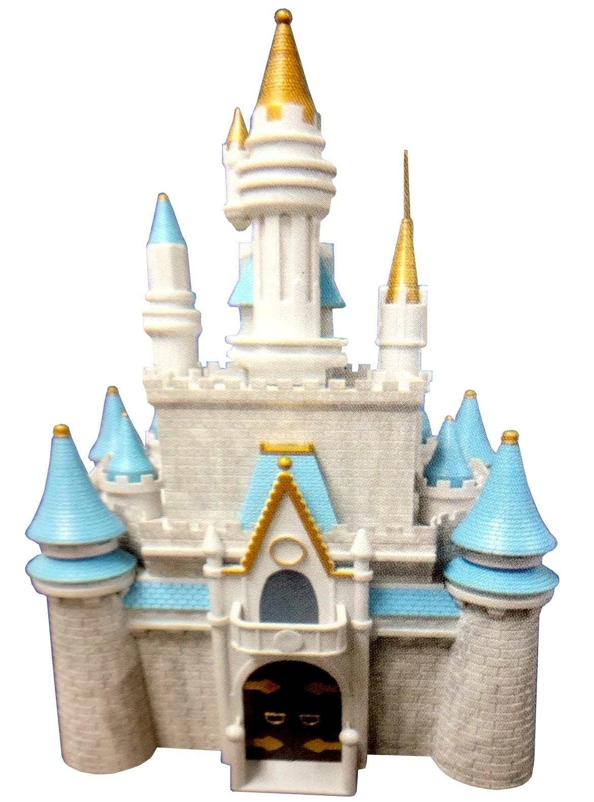Disney Magic Kingdom Cinderella Castle PlaySet ~ Monorail Accessory © Dizdude.com