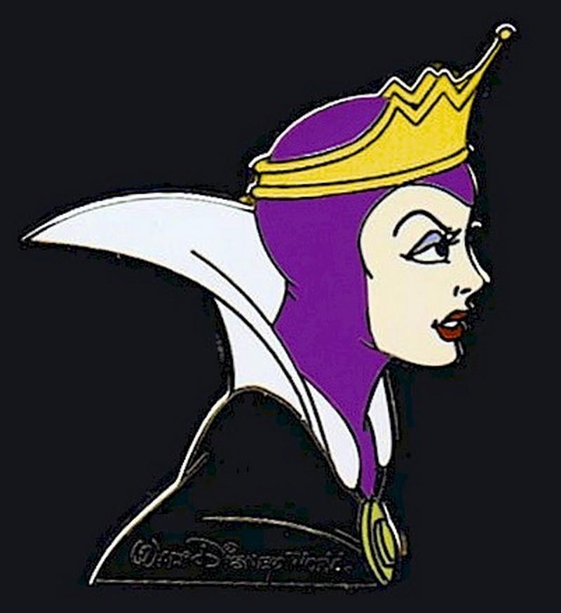 Walt Disney World Cast Lanyard Series 2 ~ Villains - Evil Queen Pin © Dizdude.com