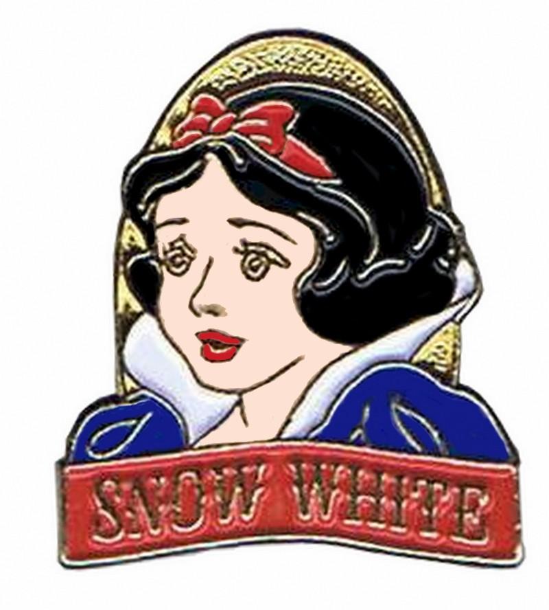 Disney Snow White and the Seven Dwarfs Video & DVD Release - Snow White Pin © Dizdude.com