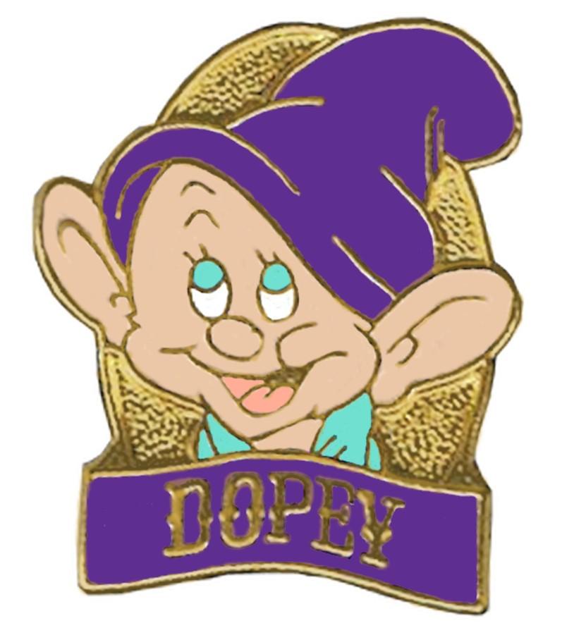 Disney Snow White and the Seven Dwarfs Video & DVD Release - Dopey Pin © Dizdude.com