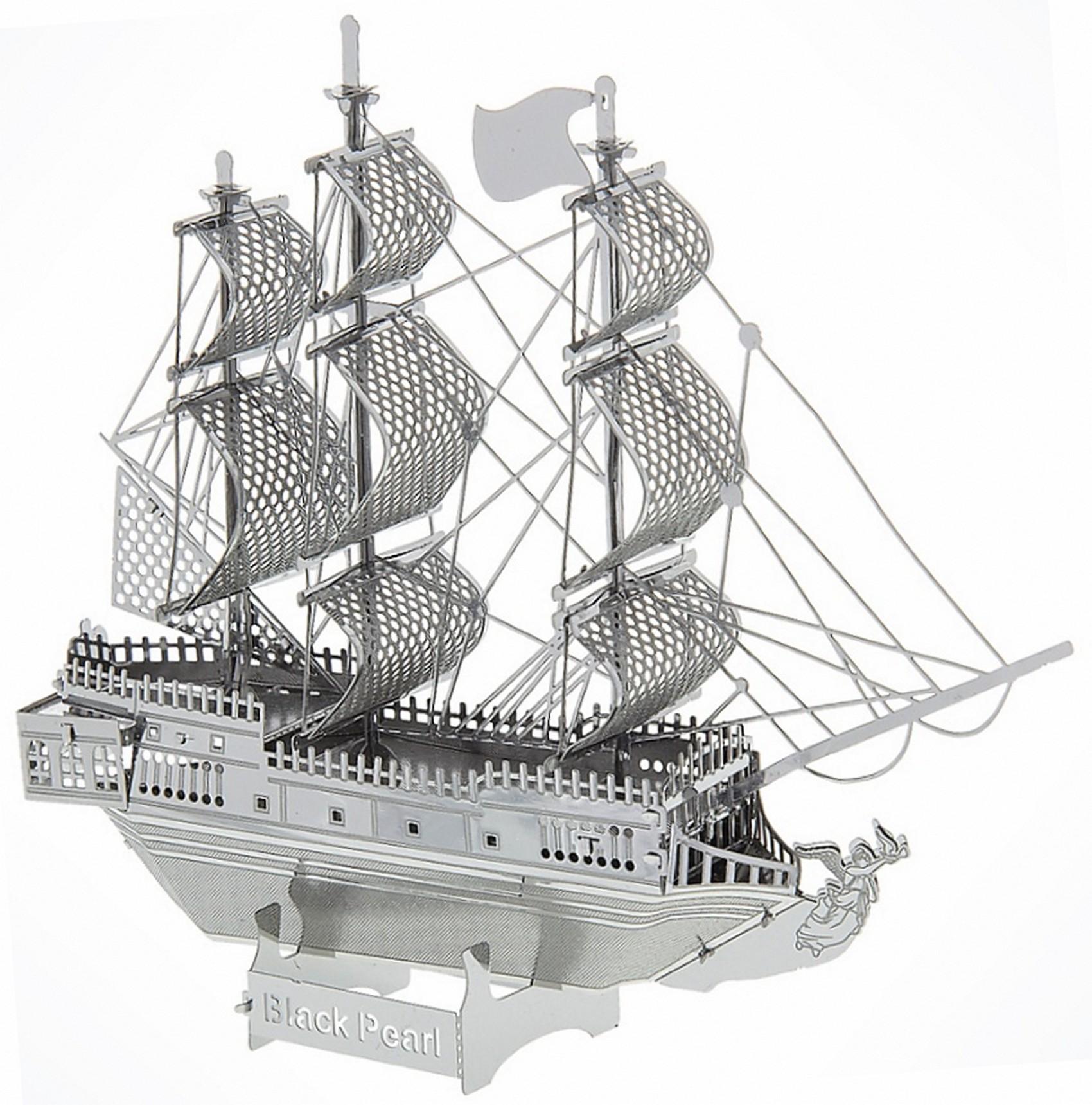 Pirates of the Caribbean The Black Pearl 3D Metal Model Kit - Disney Exclusive © Dizdude.com