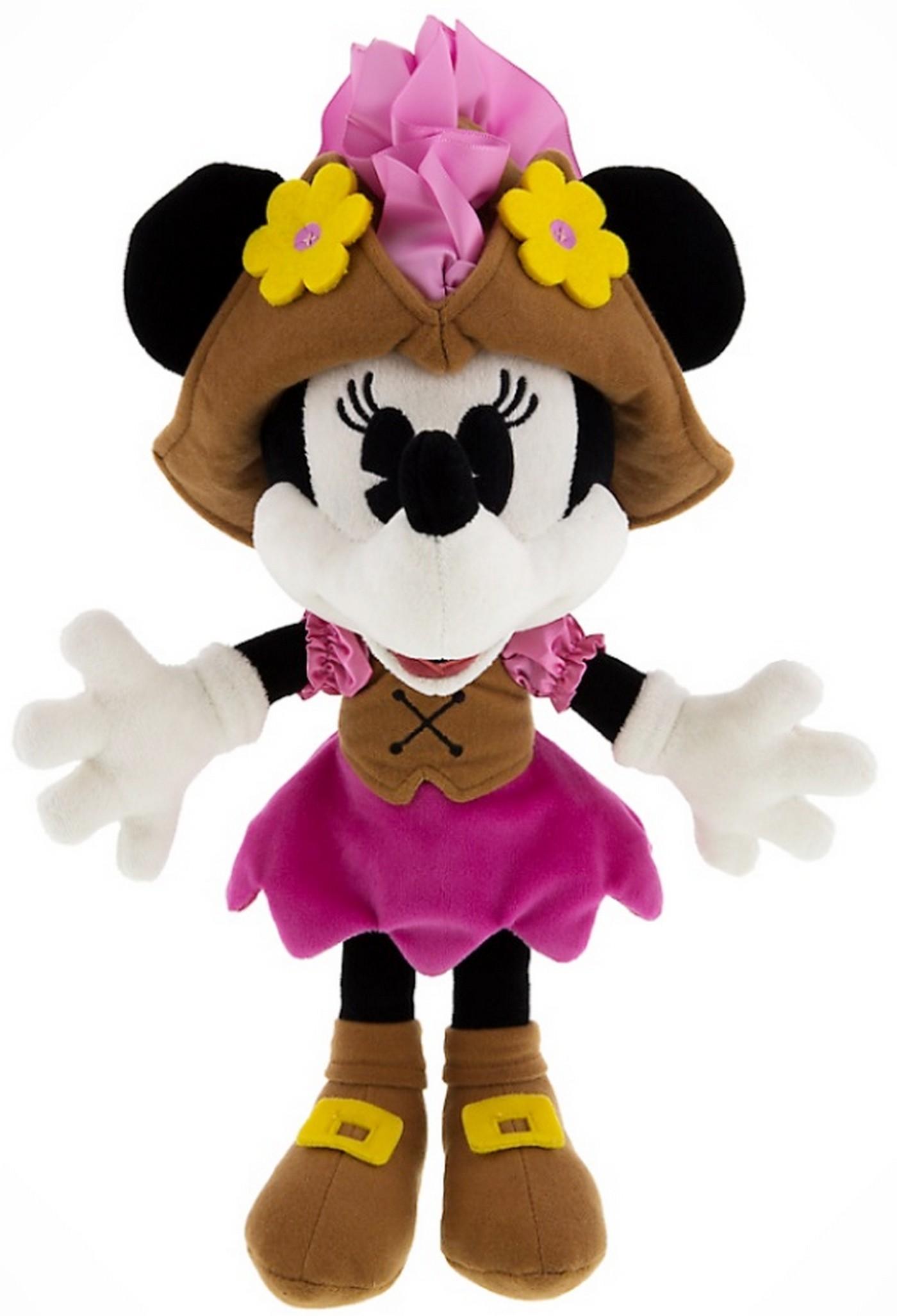 Pirate Minnie Mouse 9 inch (23 cm) Plush ~ Pirates of the Caribbean © Dizdude.com