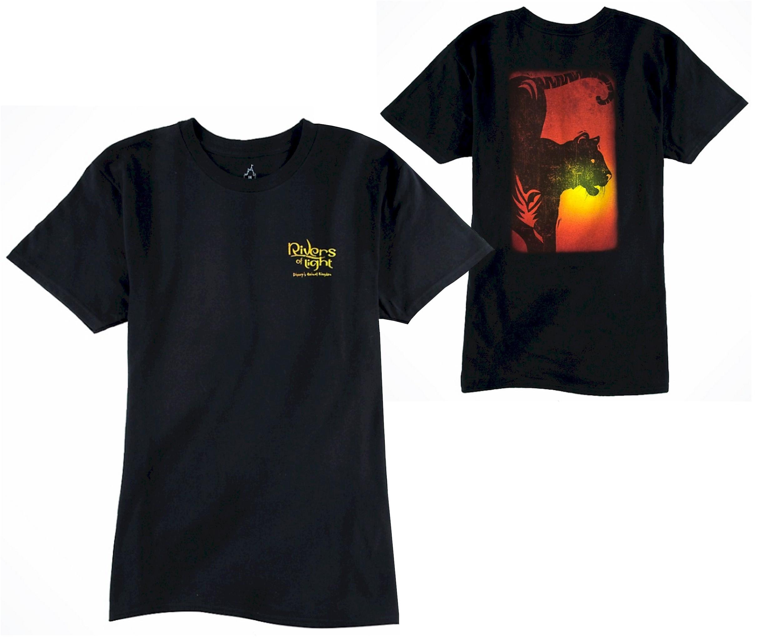 Rivers Of Light AdultT-Shirt (Tee, Tshirt or T shirt) ~ Disney Animal Kingdom