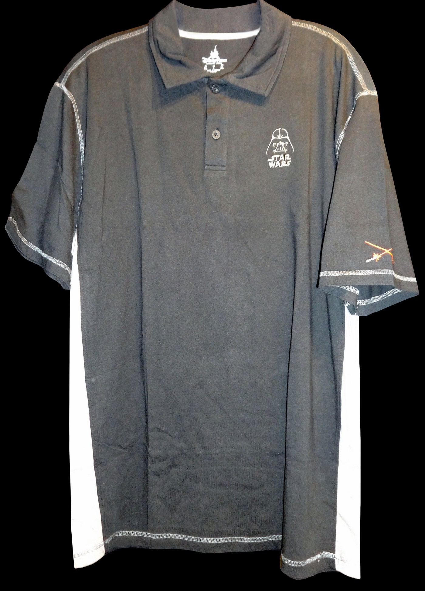 Disney Star Wars Embroidered Cotton Polo Shirt © Dizdude.com