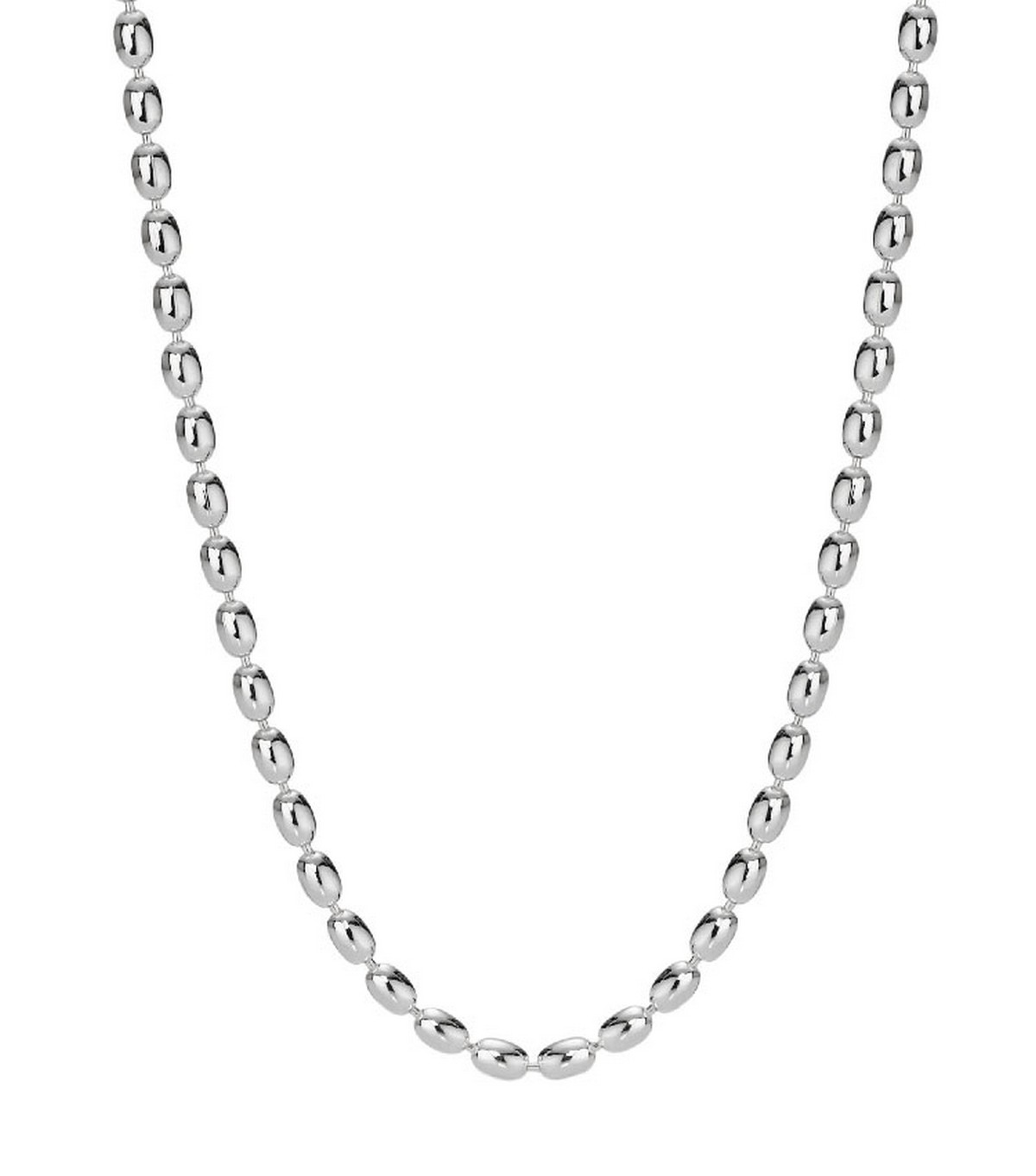 """Disney Pandora Sterling Silver """"Wheat Style Chain"""" Necklace"""
