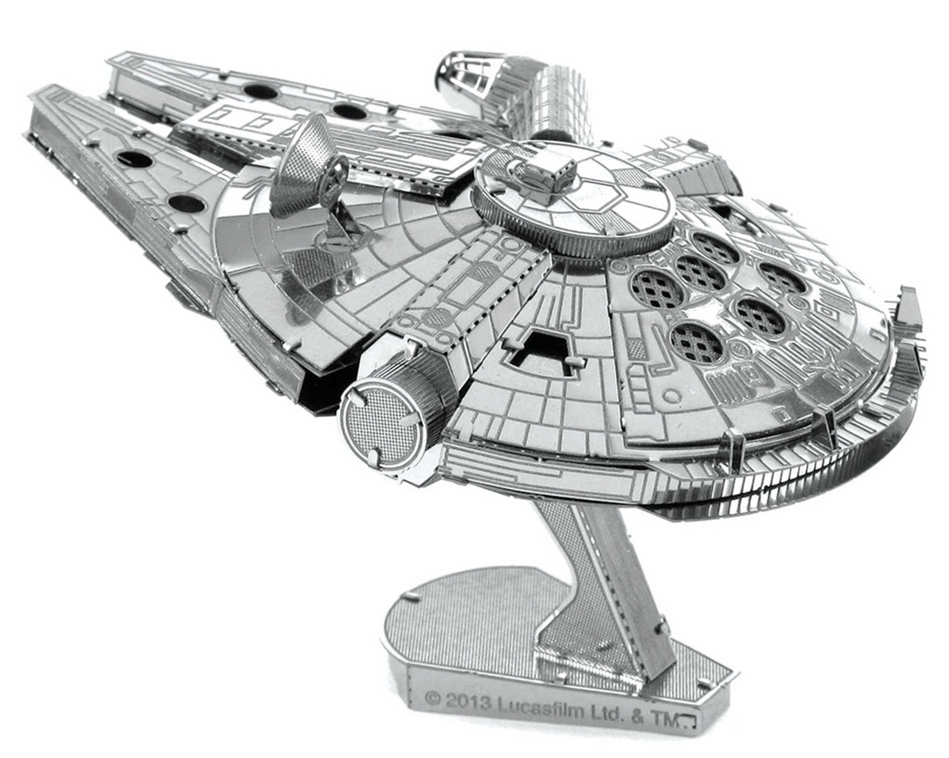 Disney Star Wars Millennium Falcon 3D Metal Model Kit © Dizdude.com