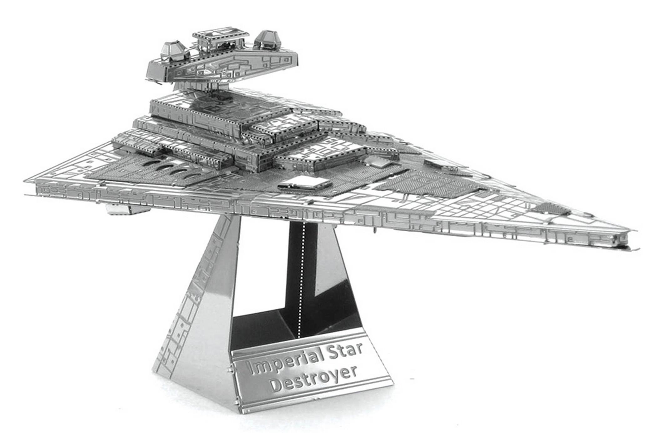 Disney Star Wars Imperial Star Destroyer 3D Metal Model Kit © Dizdude.com