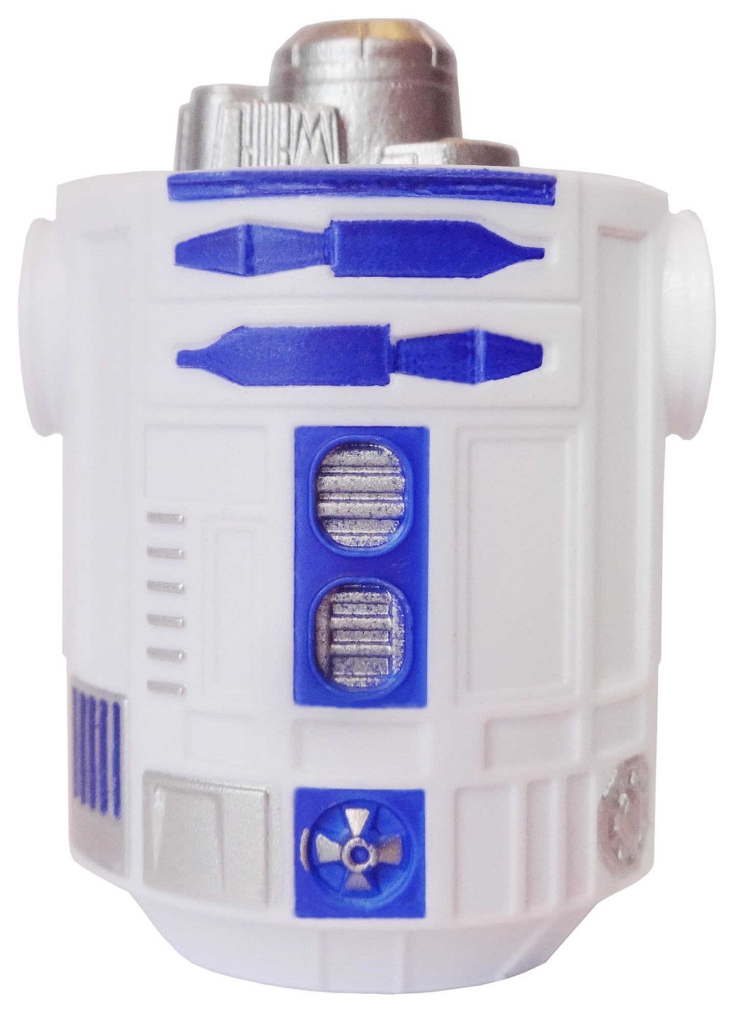 White & Blue Astromech Droid Body ~ Series 2 from Disney Star Wars Build-A-Droid Factory © Dizdude.com