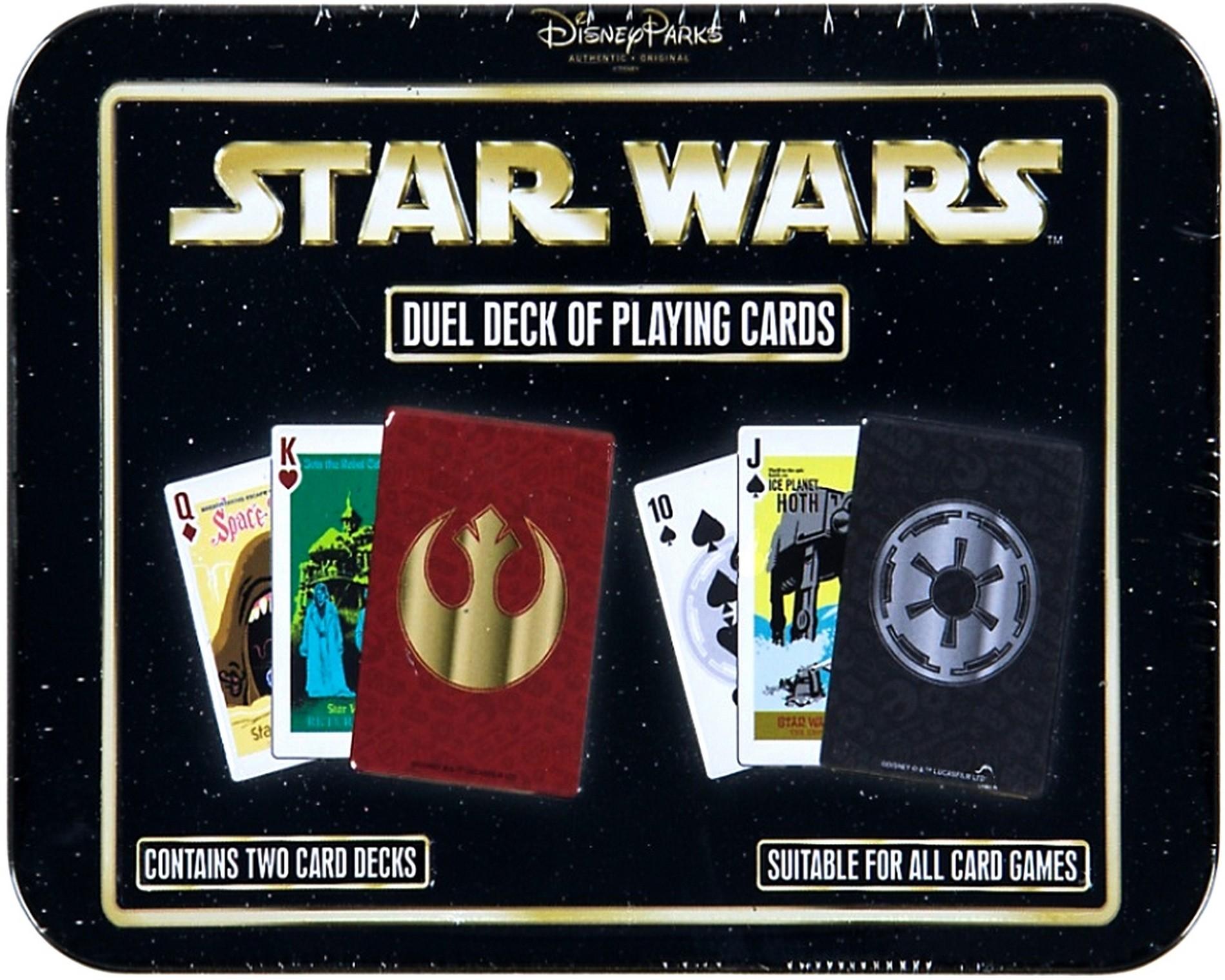 Disney's Star Wars - Duel Deck of Playing Cards © Dizdude.com