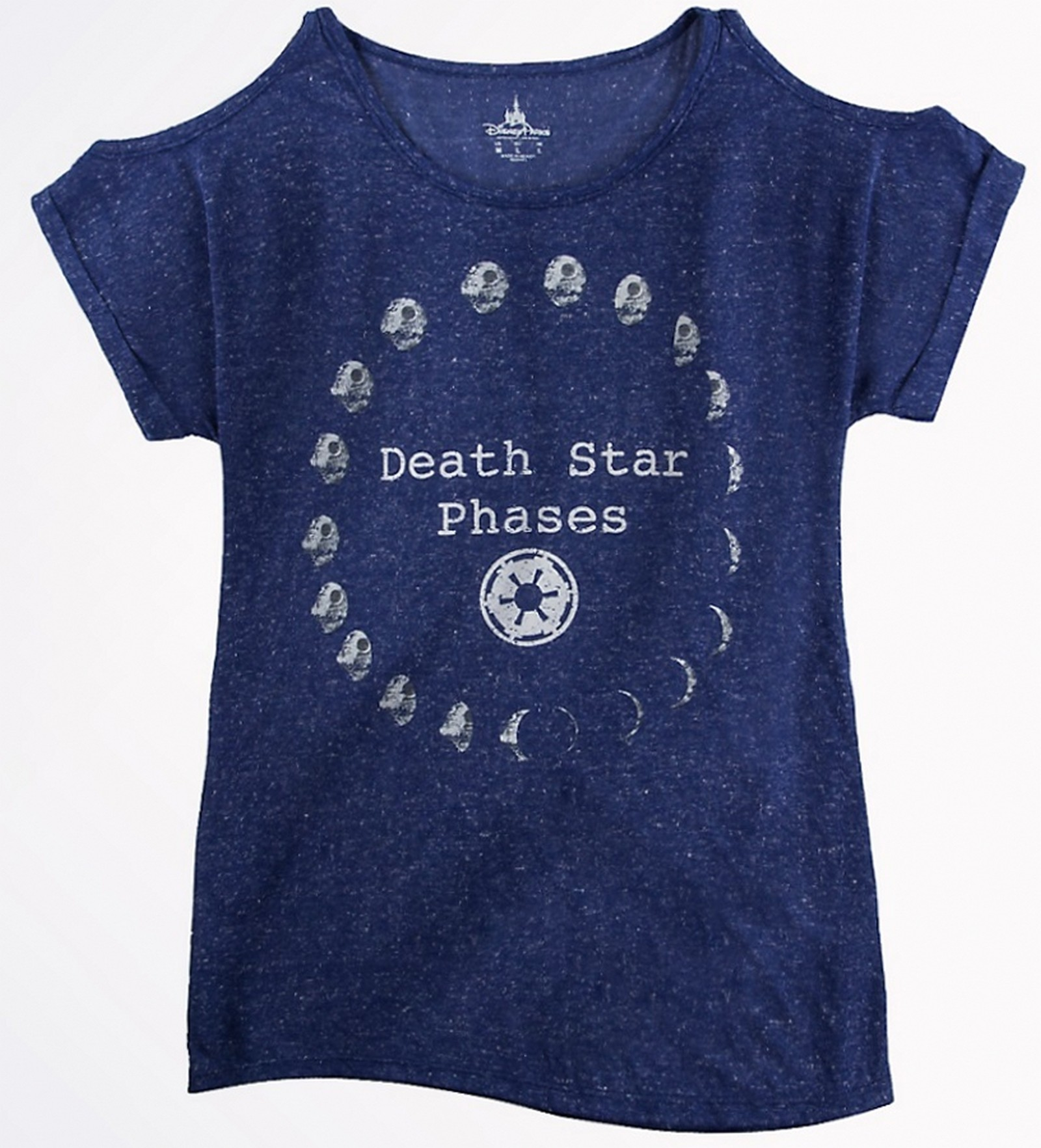 Death Star Phases Ladies Top (T-Shirt, Tshirt, T shirt or Tee) - Disney's Star Wars © Dizdude.com