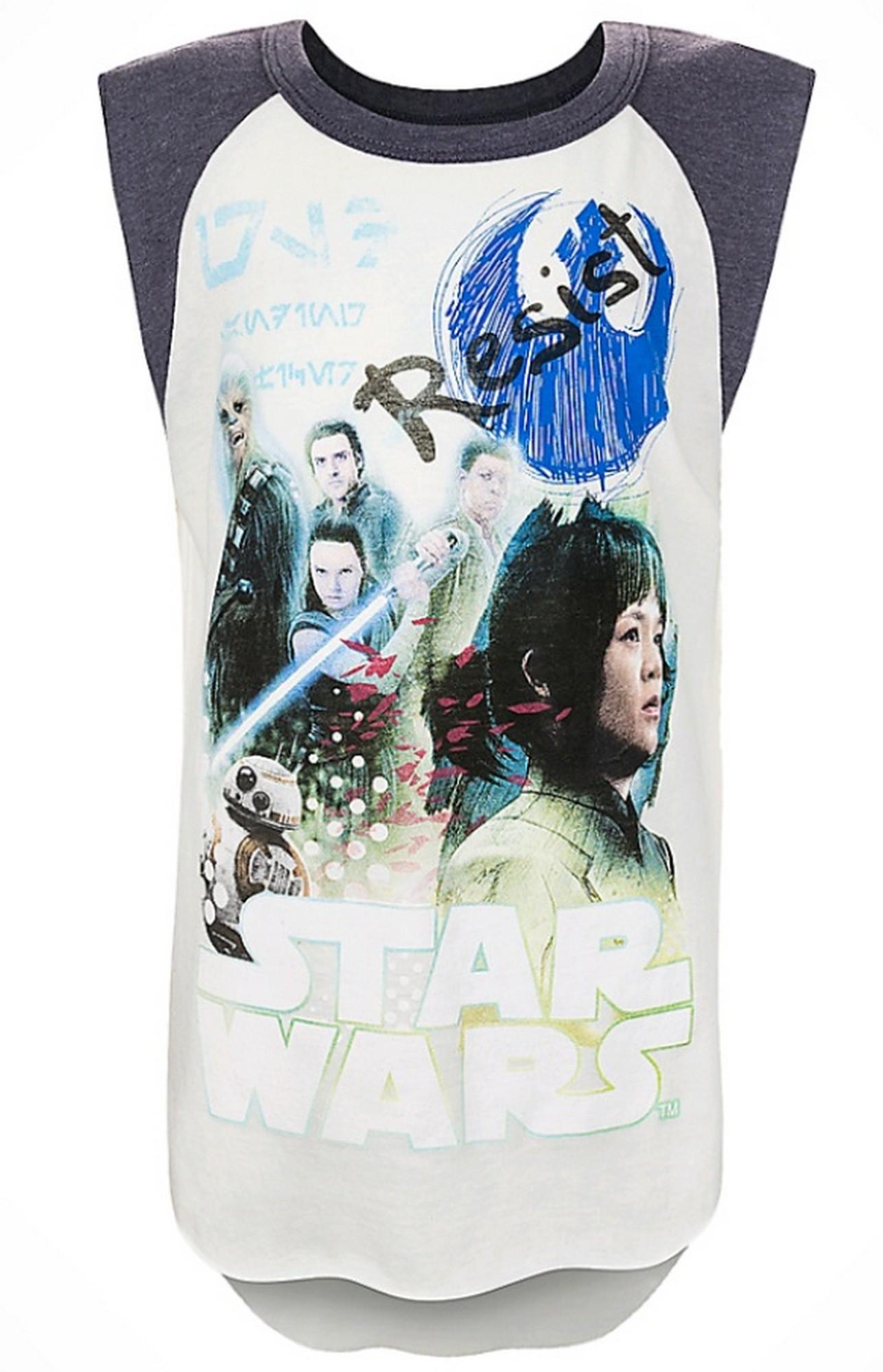 Resistance Youth Tank Tee (Tshirt, T shirt or T-Shirt) Disney Star Wars: The Last Jedi © Dizdude.com