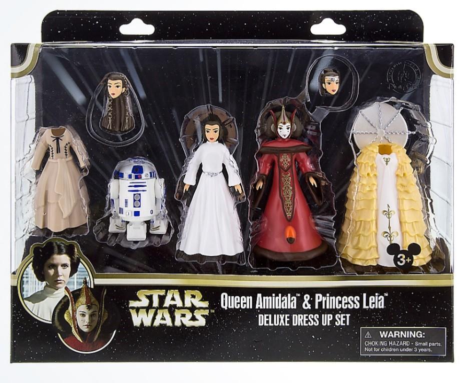 Disney Star Wars Queen Amidala and Princess Leia Deluxe Fashion Play Set © Dizdude.com