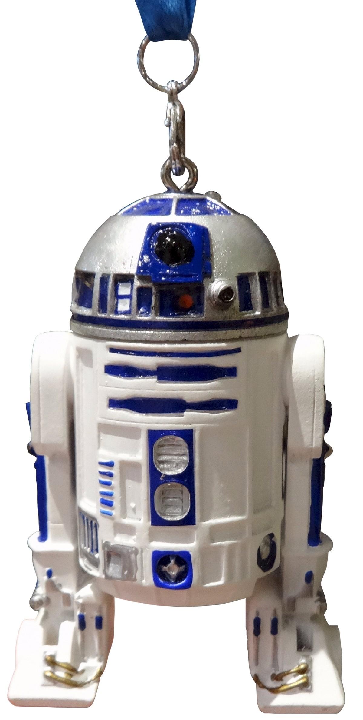R2-D2 Light Up Christmas Ornament ~ Disney Star Wars © Dizdude.com