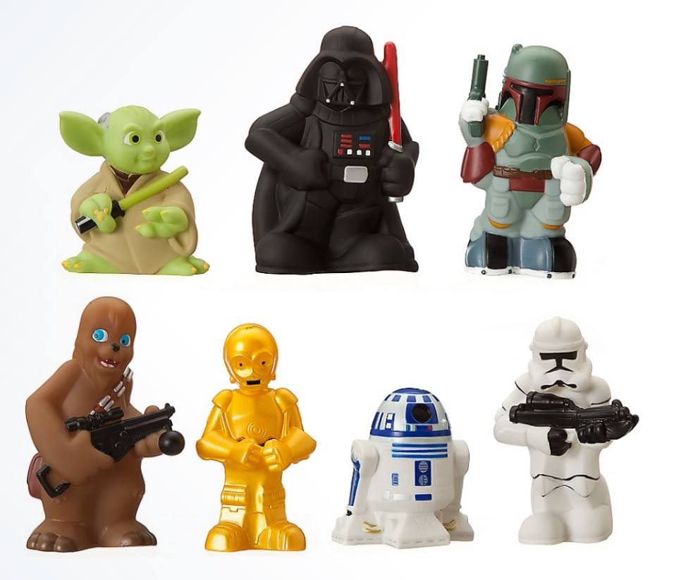 Disney Star Wars Toddlers 7 Piece Play Set © Dizdude.com