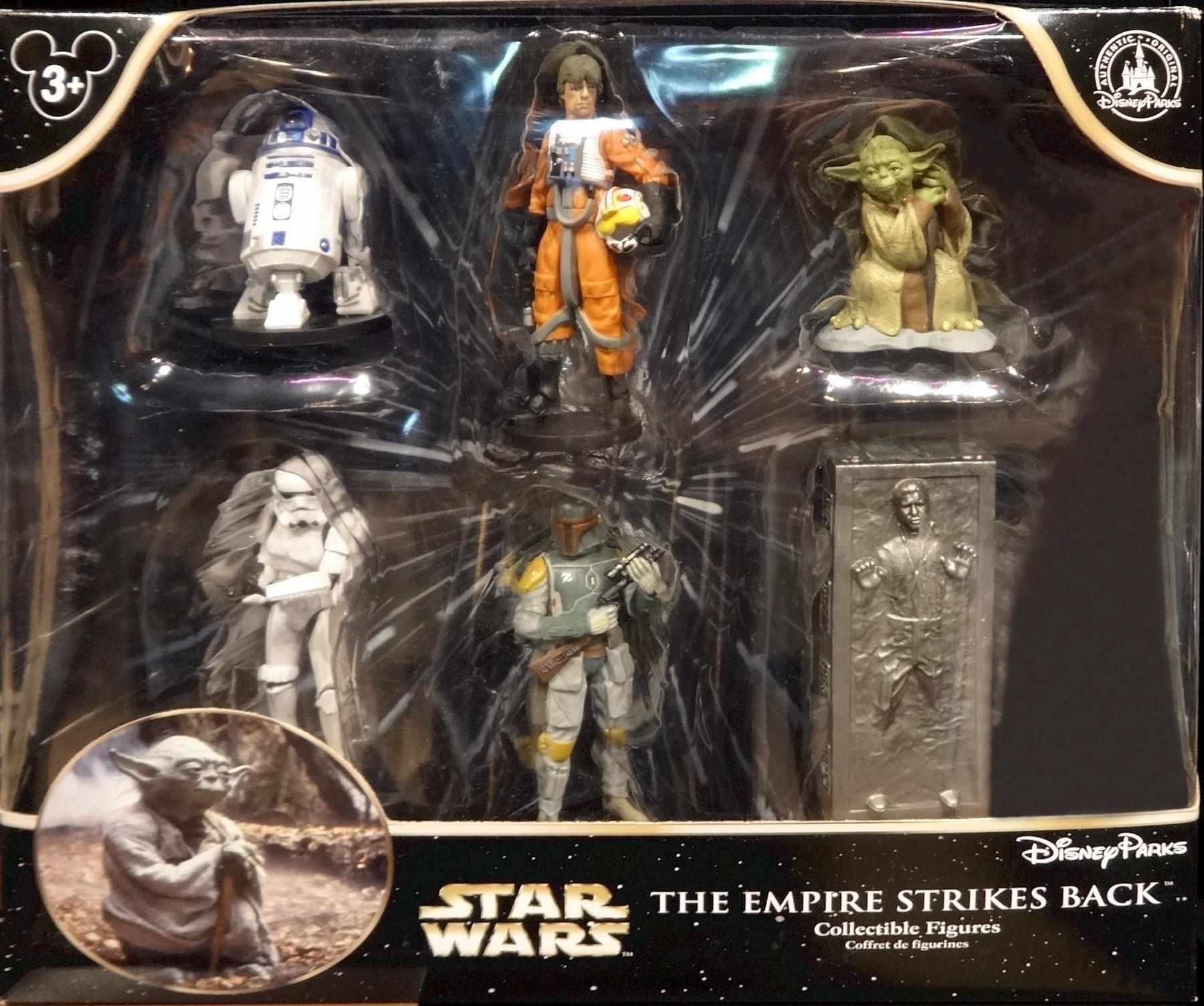 Star Wars The Empire Strikes Back Collectible Figures ~ Disney Star Wars Weekends 2015 © Dizdude.com
