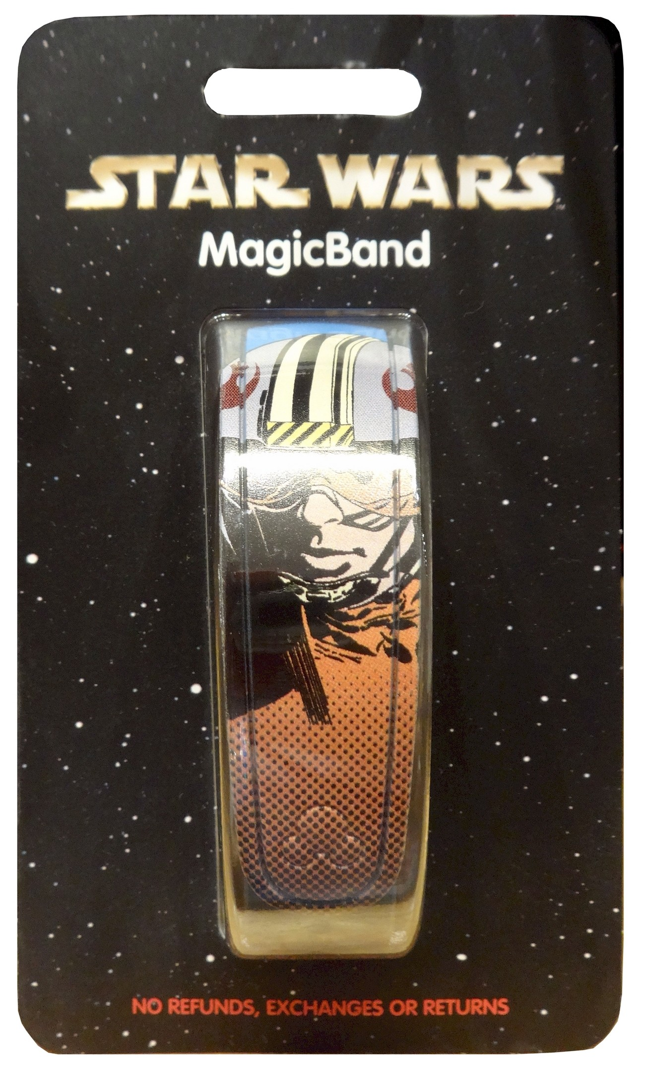 Disney Star Wars Luke Skywalker Graphic Magic Band © Dizdude.com