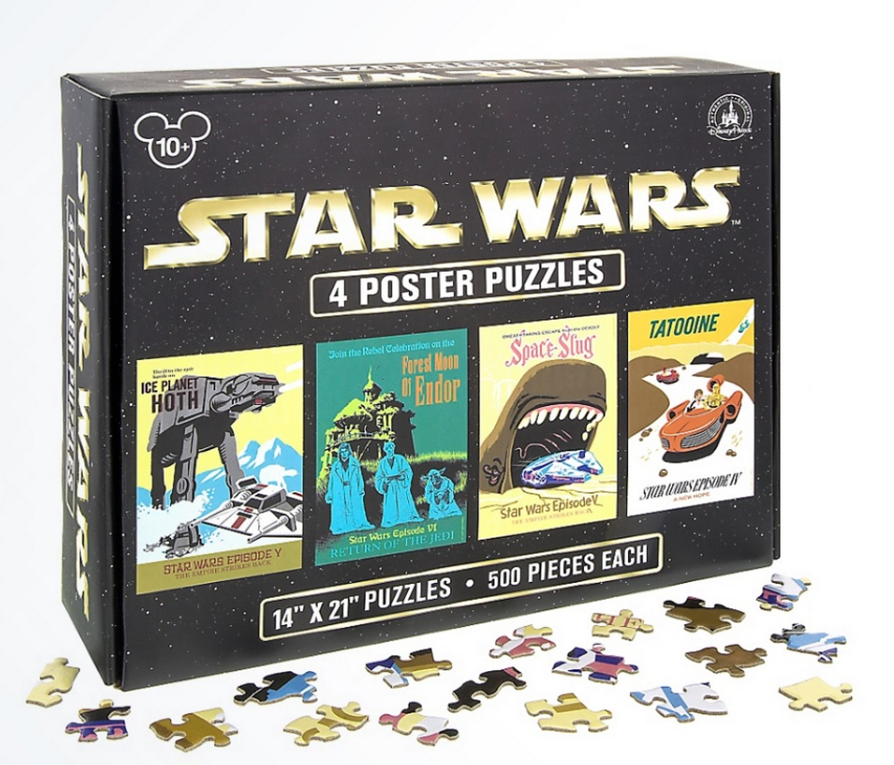 Disney Star Wars Four 500 Piece Poster Puzzles © Dizdude.com