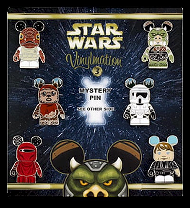 Disney Star Wars Series 3 Vinylmation Mystery Pin Set - Star Wars Weekends 2014 © Dizdude.com
