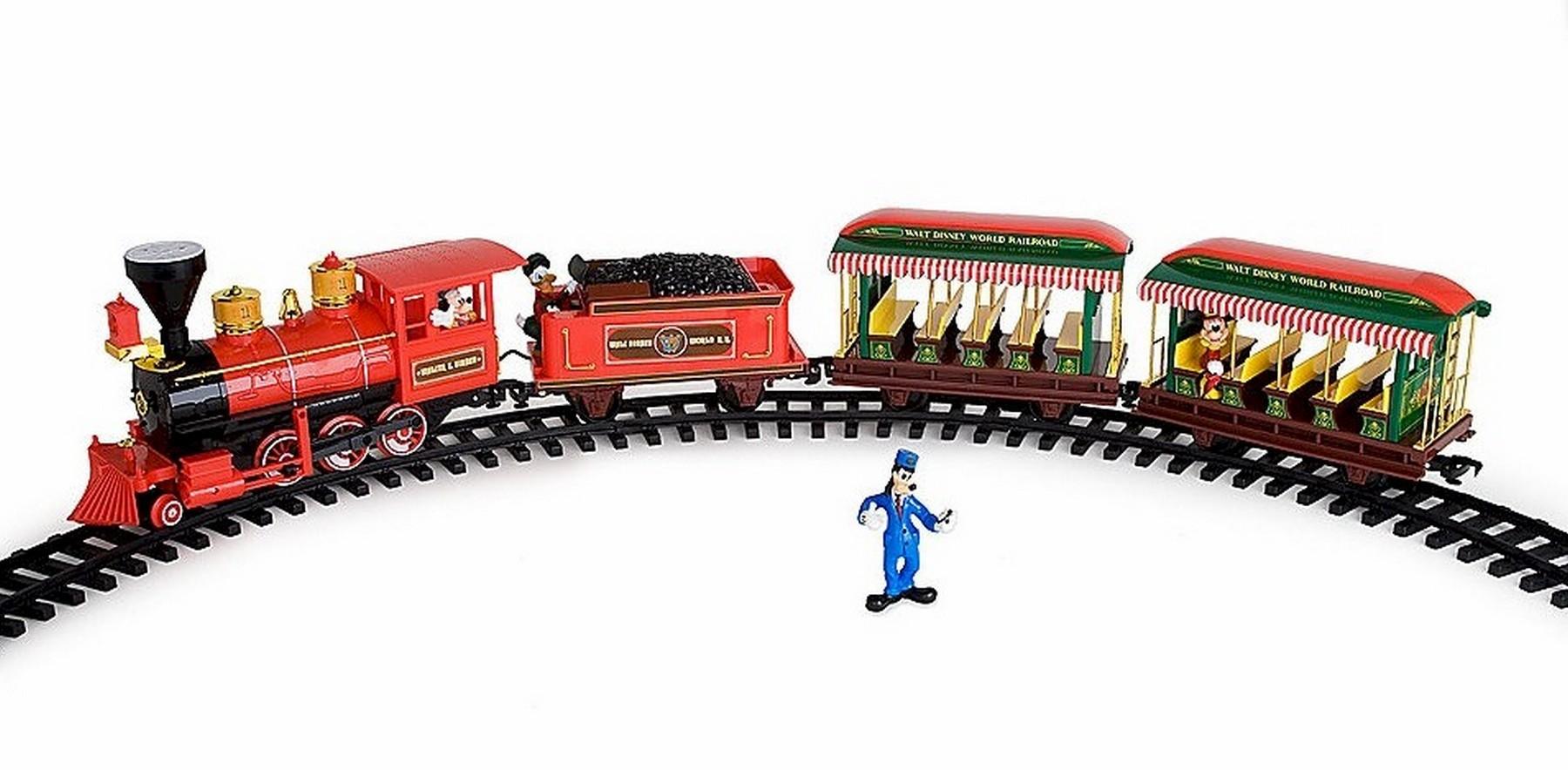 Walt Disney World Railroad Train Set © Dizdude.com