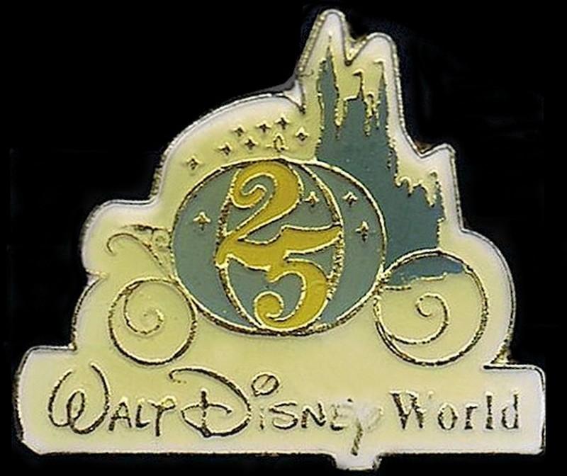 Walt Disney World 25th Anniversary Cinderella's Coach Pin © Dizdude.com
