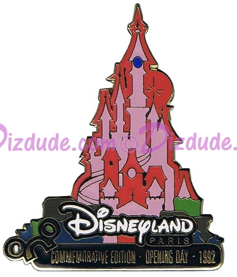 Walt Disney World -July 2000 Pin of Month - Disneyland Paris LE 15000 Autographed by Disney Artist Mark Seppala © Dizdude.com