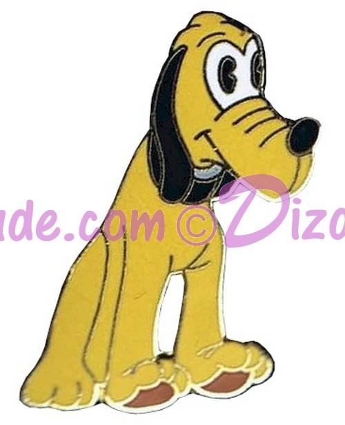 Walt Disney World - Art of Disney - Old Fashioned Pluto Doll Pin © Dizdude.com