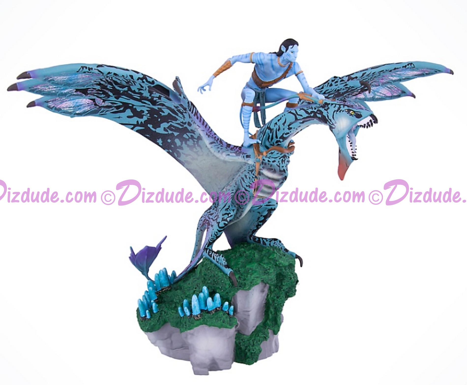 Avatar Jake Sully Riding A Banshee Medium Big Fig - Disney Pandora – The World of Avatar © Dizdude.com