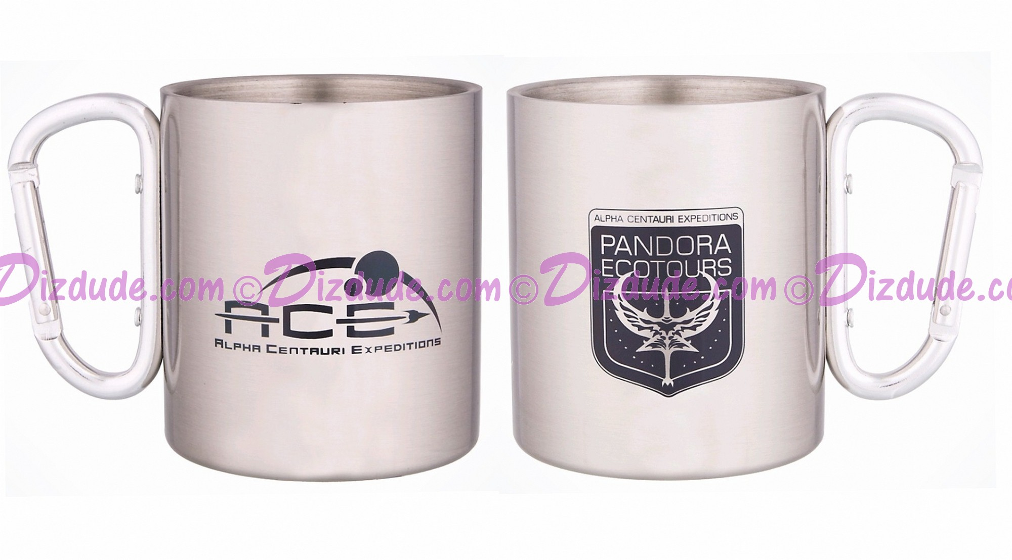 Avatar Alpha Centauri Expeditions (A.C.E.) Pandora Ecotours Stainless Steel Mug - Disney Pandora – The World of Avatar © Dizdude.com