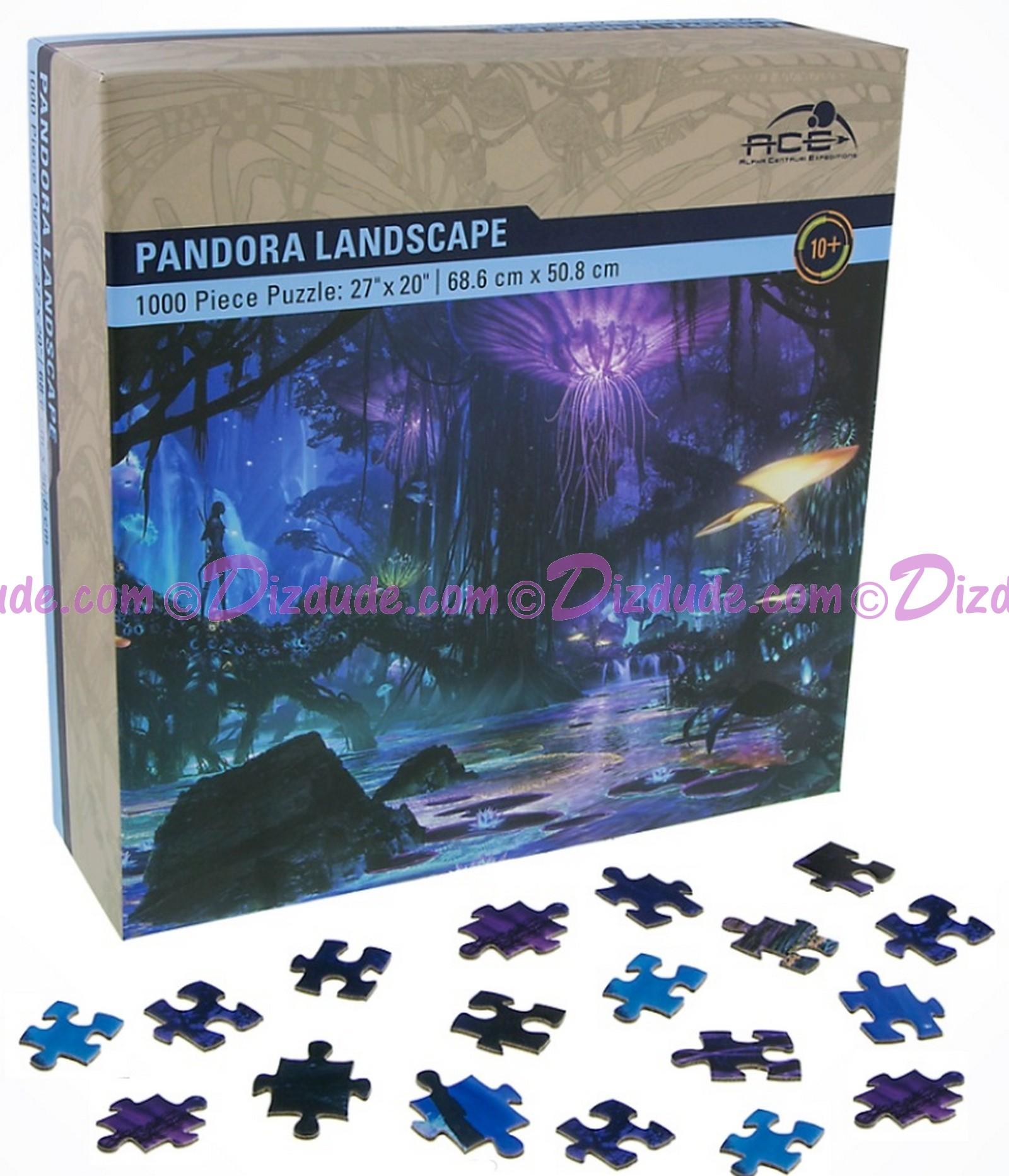 Avatar Pandora Landscape 1000 Piece Jigsaw Puzzle - Disney Pandora – The World of Avatar