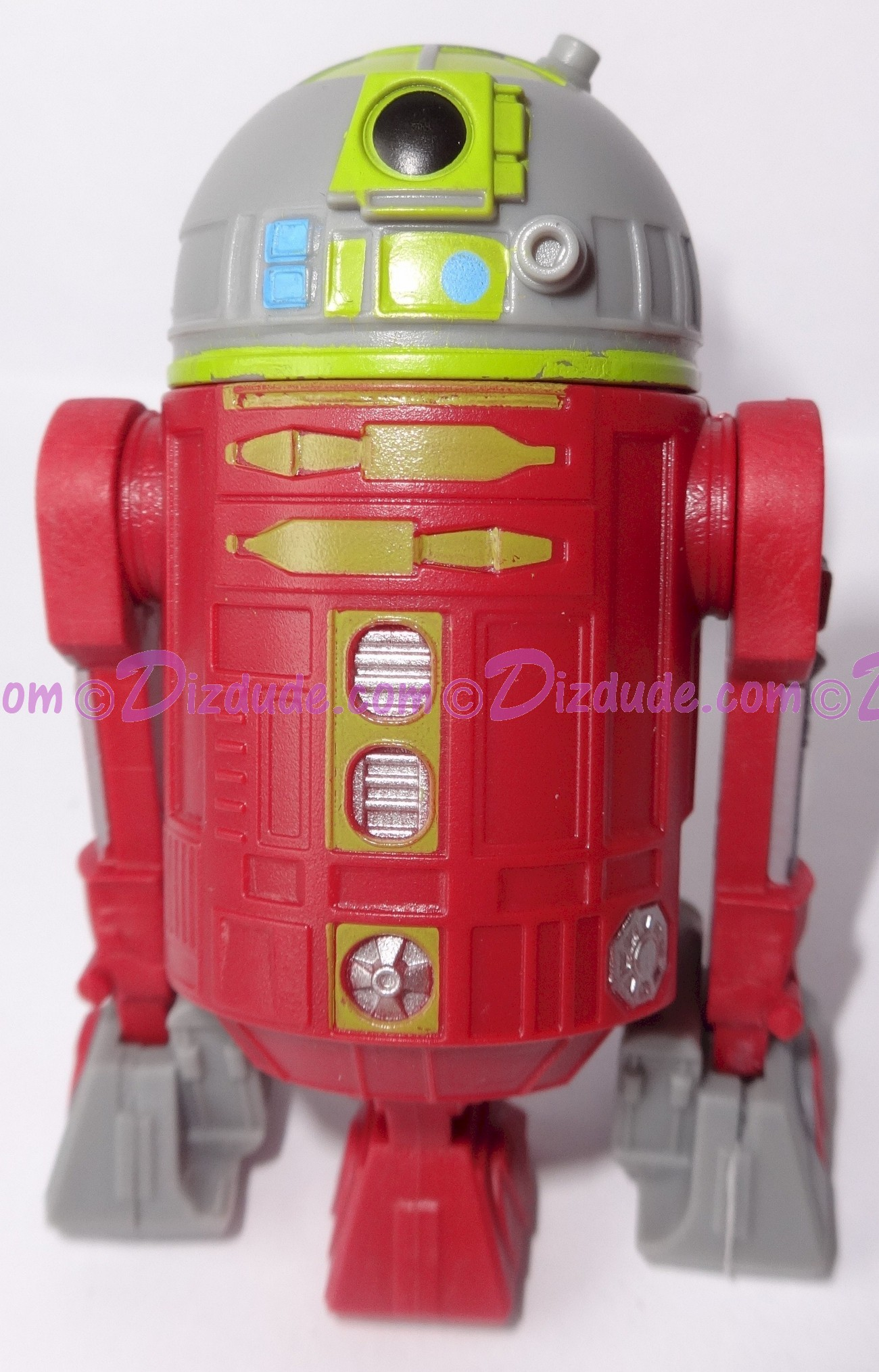 R2 Red & Gray Astromech Droid ~ Pick-A-Hat ~ Series 2 from Disney Star Wars Build-A-Droid Factory © Dizdude.com
