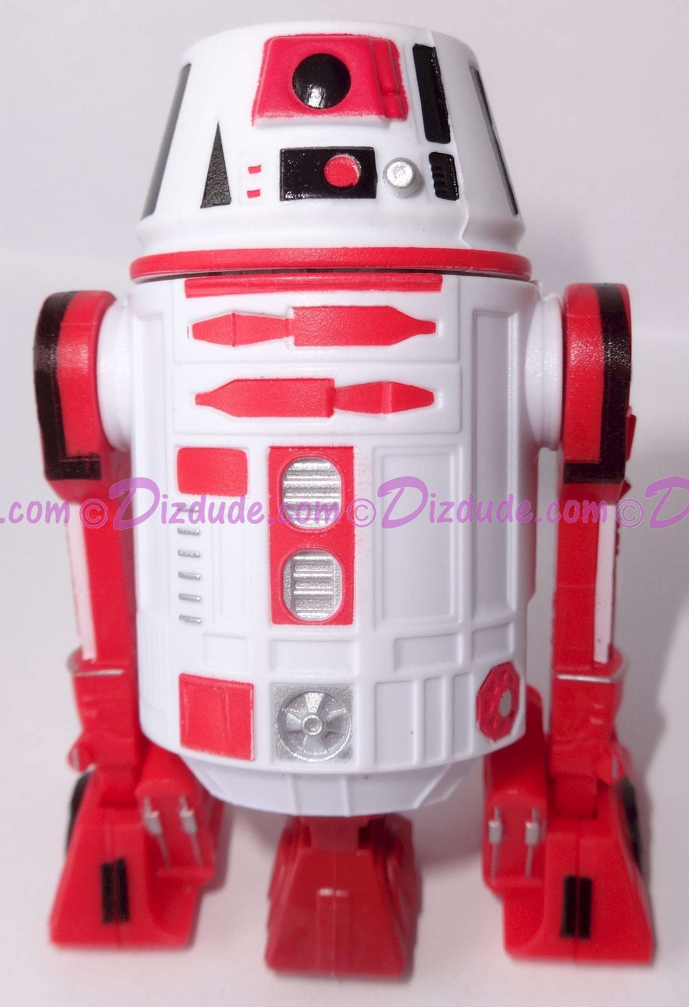 R6 White & Red Astromech Droid ~ Pick-A-Hat ~ Series 2 from Disney Star Wars Build-A-Droid Factory © Dizdude.com