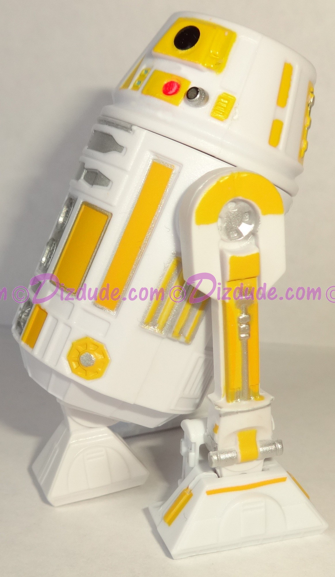 R6 White & Yellow Astromech Droid 2016 Series 2 from Disney Star Wars Build-A-Droid Factory ~ Pick-A-Hat © Dizdude.com