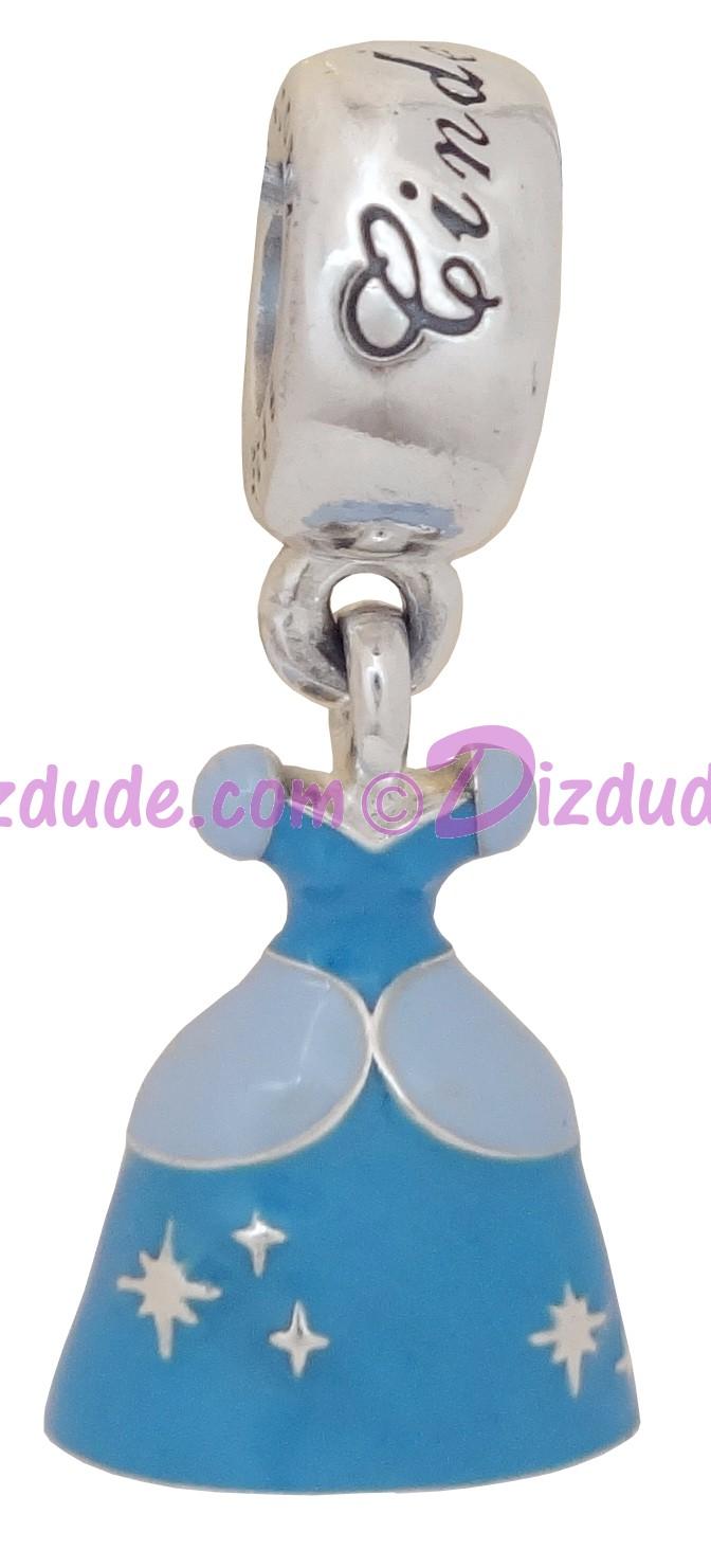 Disney Pandora Cinderella's Dress Sterling Silver Charm