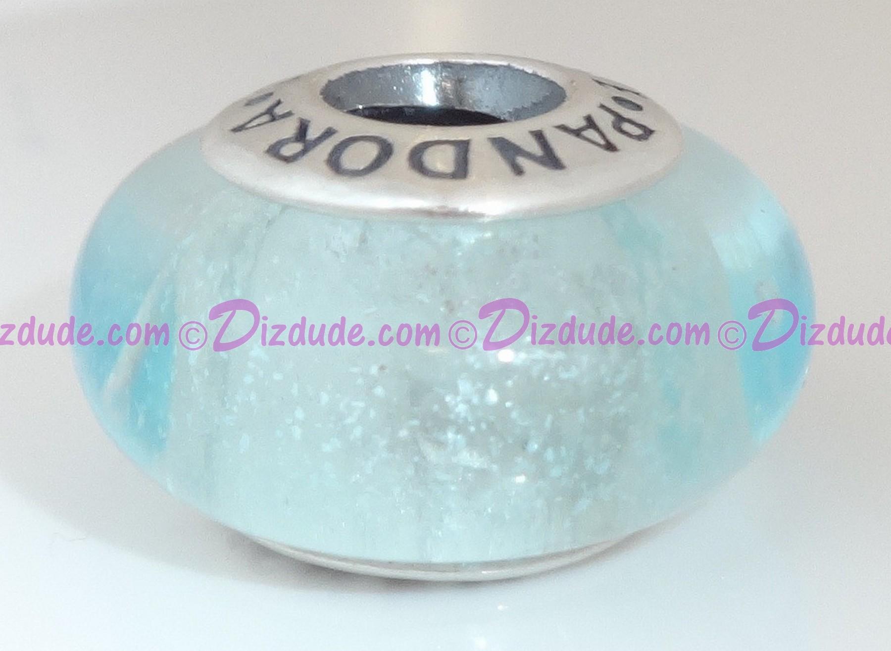 "Disney Pandora ""Elsa's Signature Color"" Sterling Silver Charm (GLOWS IN THE DARK)"