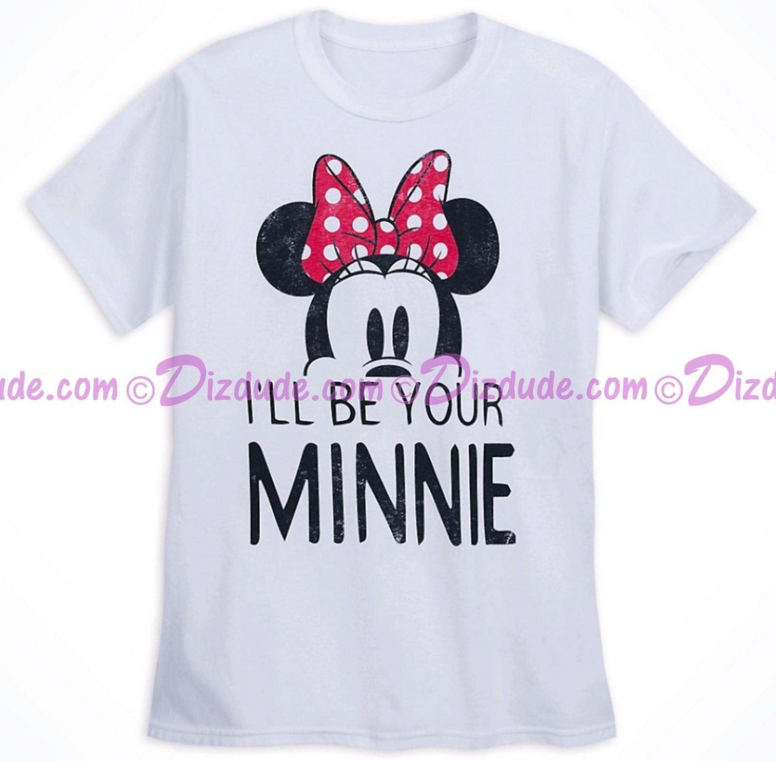 Disney Companion Shirt I'll Be Your Minnie Adult T-shirt (Tee, Tshirt or T shirt)