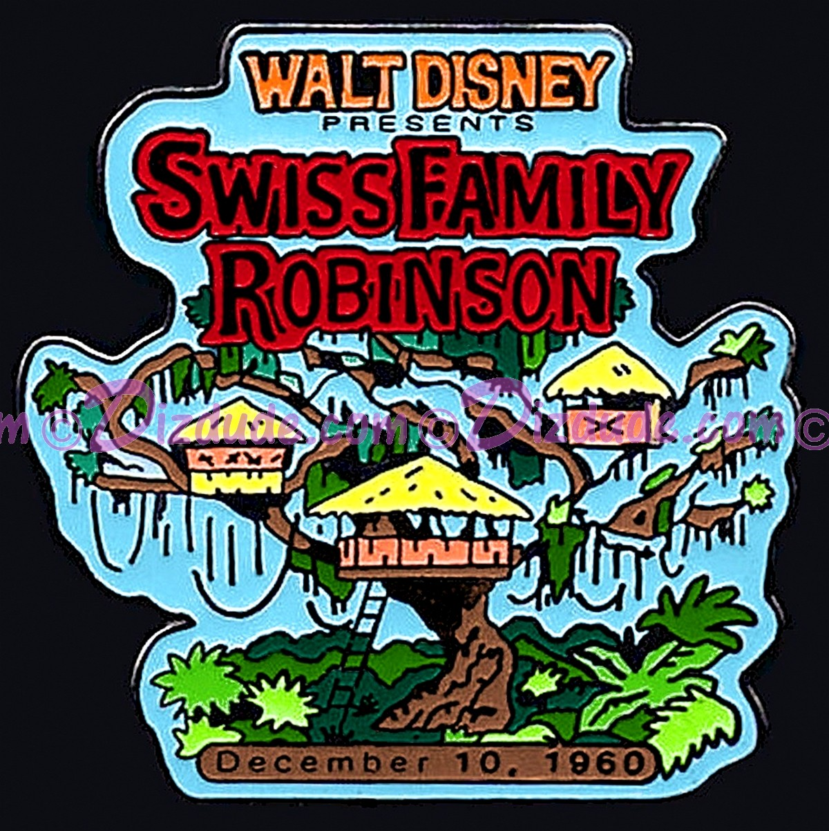 Countdown to the Millennium Series #23 (Swiss Family Robinson)© Dizdude.com