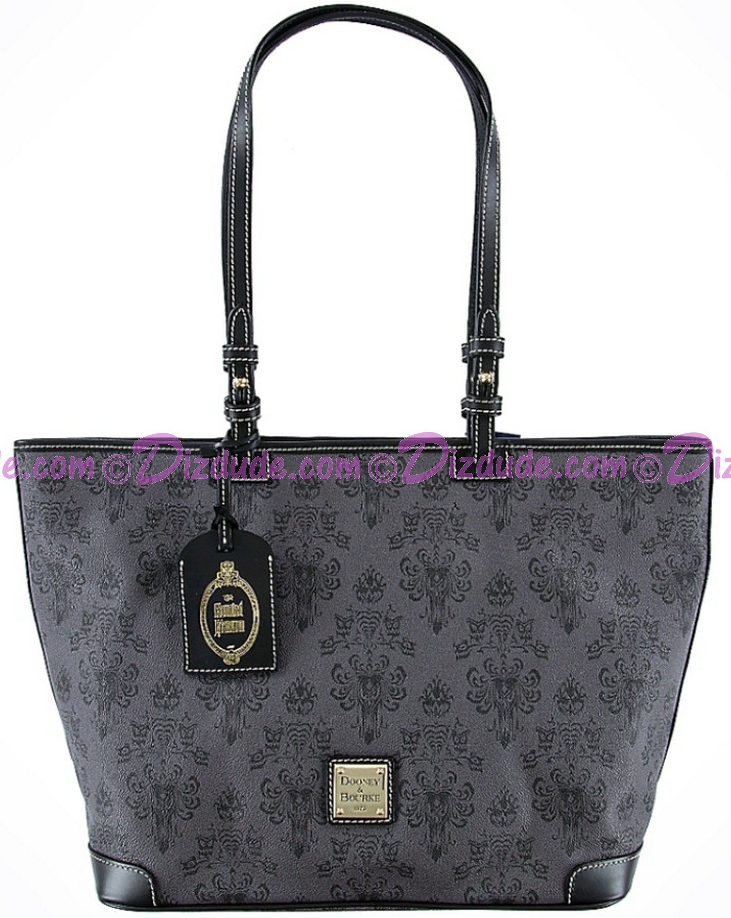 Dooney & Bourke - Disney Haunted Mansion Wallpaper Tote Handbag © Dizdude.com