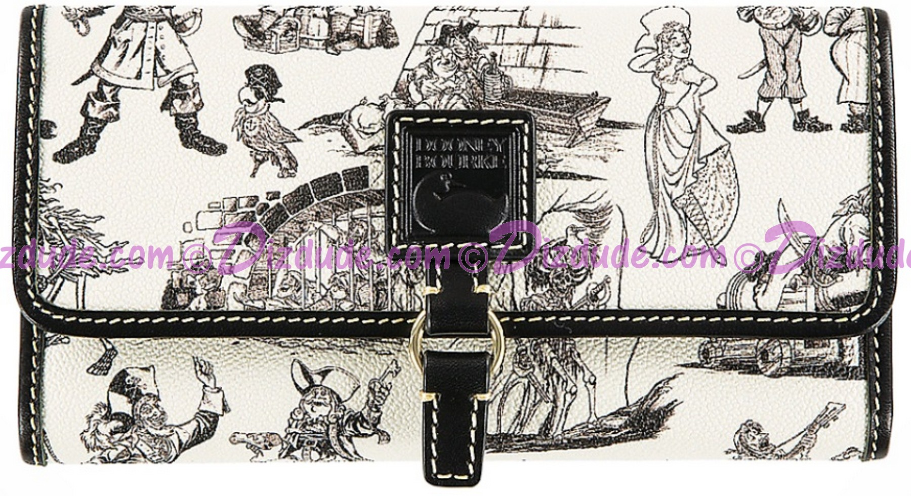 Dooney & Bourke Pirates of the Caribbean Checkbook Wallet - Disney World Exclusive © Dizdude.com